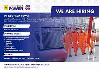 lowongan pt indonesian power