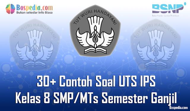 30+ Contoh Soal UTS IPS Kelas 8 SMP/MTs Semester Ganjil Terbaru