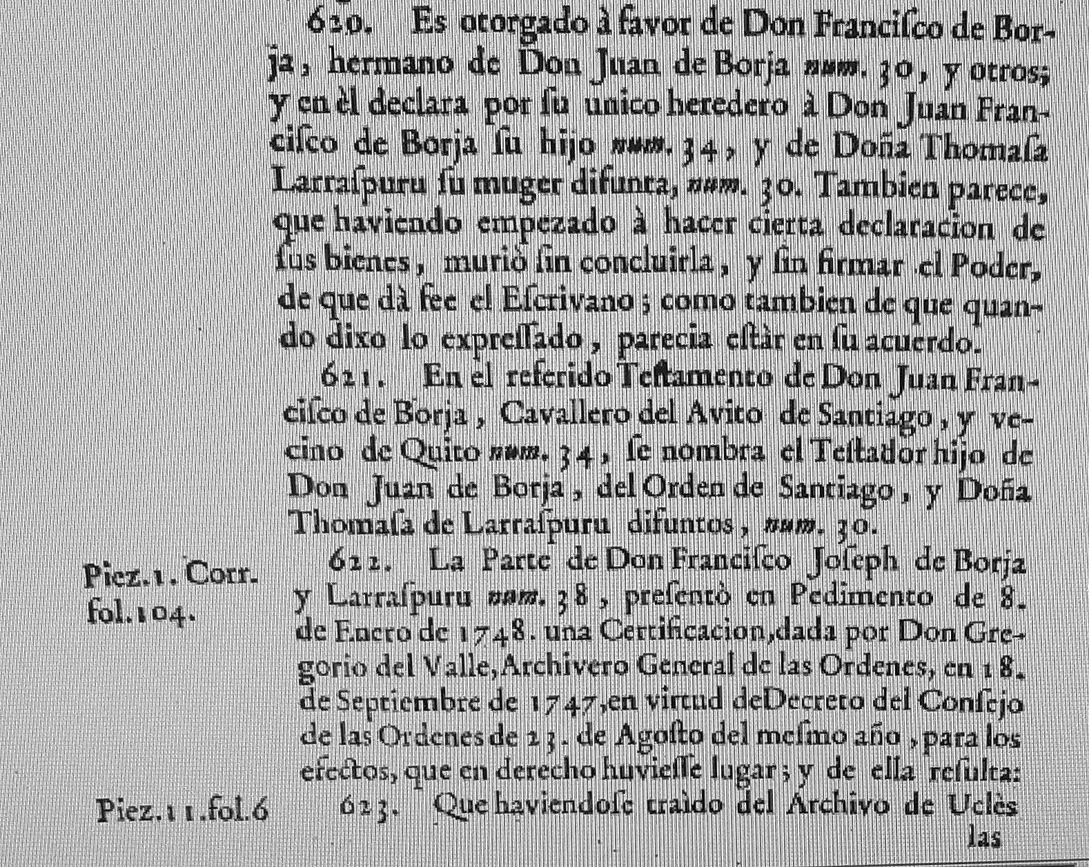 El Ultimo Duque Borja El Tercer Grado De La Rama De Don