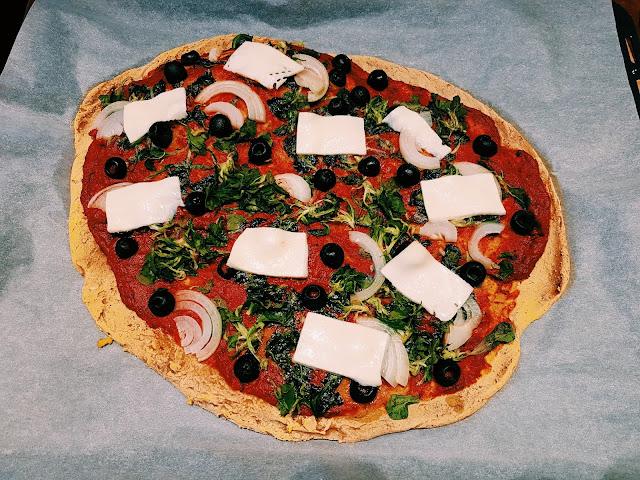 Batatowa pizza