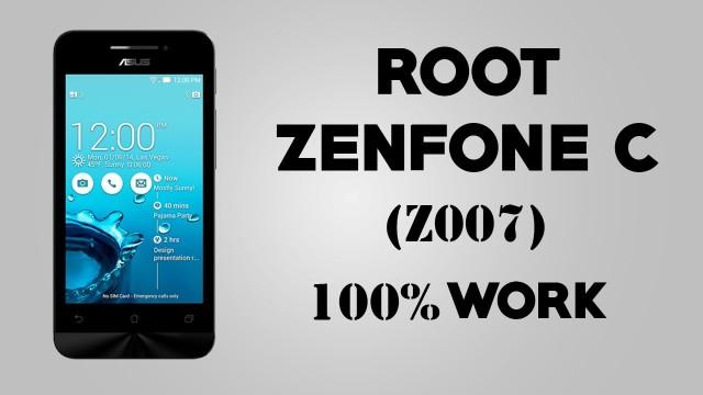 Cara Root Zenfone C