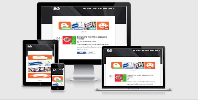 Chia sẻ miễn phí Template Typography cho Blogspot