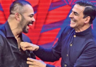 akshay kumar with rohit shetty
