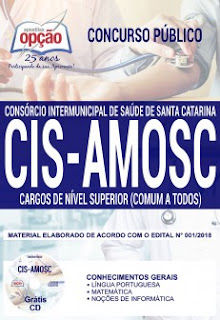 download Apostila Concurso CIS AMOSC 2018 PDF