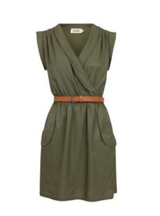 Khaki Green Dress