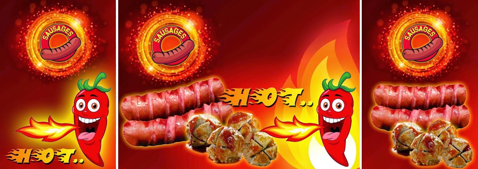 Contoh Banner Bakso - Hontoh