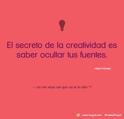 Frases de diseño, creatividad y éxito.