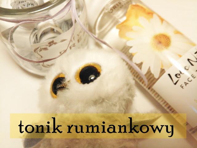 Rumiankowy tonik do twarzy - do cery wrażliwej! | Oriflame