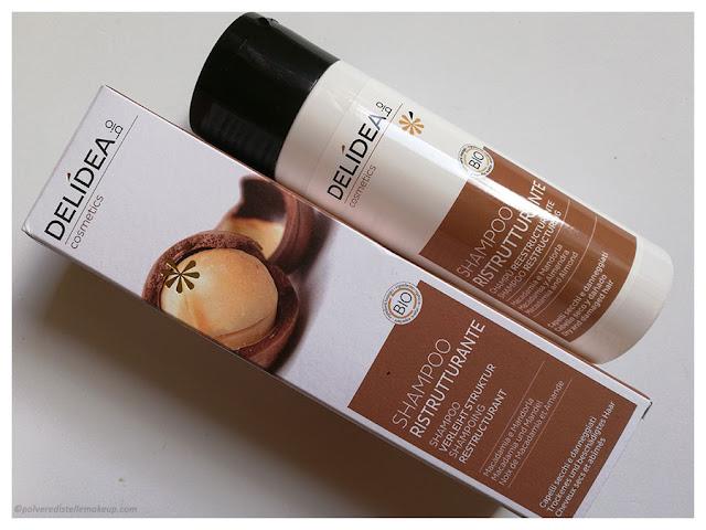Shampoo Ristrutturante Delidea Macadamia e mandorla