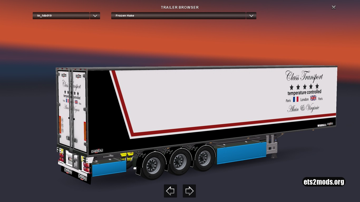 Chereau Trailers Pack 1.26 [Update]