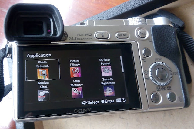 Aplikasi-aplikasi kamera Sony PlayMemories yang bisa di install di kamera Sony A6000