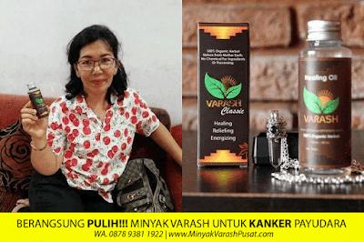 Khasiat Minyak Varash untuk Kanker Payudara