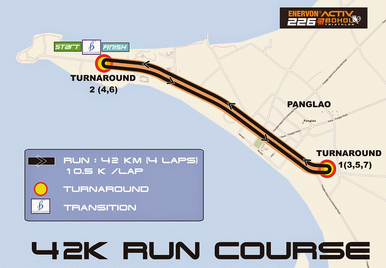 Bohol 226 Run Course