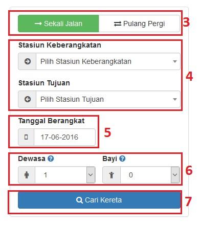 Panduan Transaksi Tiket Kereta Api