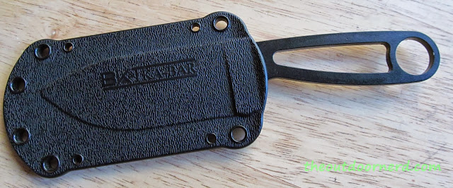 Ka-Bar Becker BK14 Eskabar Fixed Blade Knife: Closeup Of Handle 3