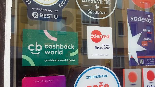 Cashback World - Franko's Restaurant, Burgeria & Pizzeria - samolepka