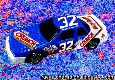 Dale Jarrett #32 Crunch Busch BGN Racing Champions 1/64 Custom NASCAR diecast blog