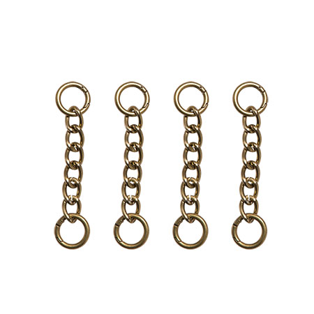 Miche Interchangeable Handle Chain Set - Antique Brass