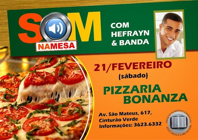 Pizzaria Bonanza - Projeto Alimento Espiritual