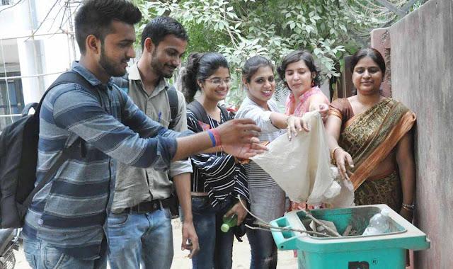 Jesse Bose University Faridabad is celebrating 'Sanitary Hygiene Service' fortnight