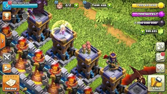 Download CoC Private Server Clash of Light v10.322.12.15 [ Unlimited Elixir, Gold, Gems ]