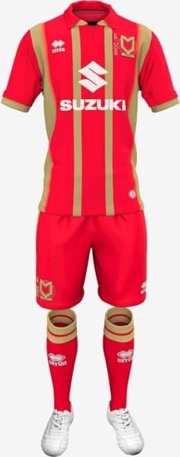 ミルトン・キーンズ・ドンズFC 2018-19 ユニフォーム-アウェイ