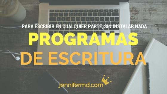 5 programas de escritura multiplataforma online