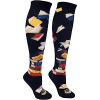 ModSocks Bibliophile Knee Socks - Gift Ideas for Bookworms