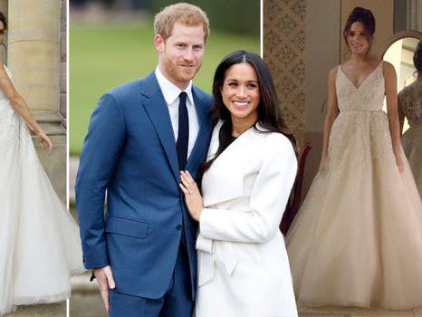 Plan i informacje dotyczące ślubu księcia Harry'ego z Meghan Markle.