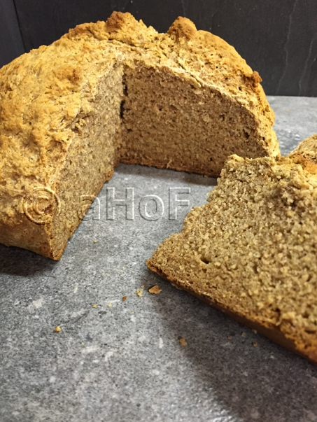 Barley Flour Soda Bread