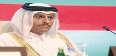 وزير الخارجية القطرى محمد بن عبد الرحمن آل ثانى
