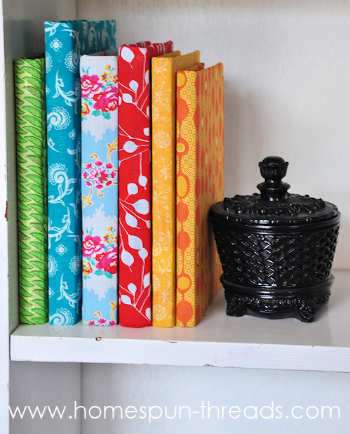 Decorating Books Covered With Wrapping Paper