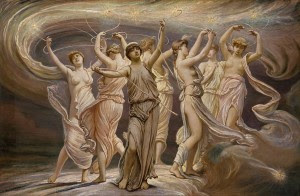 The Pleiades by Elihu Vedder, 1885