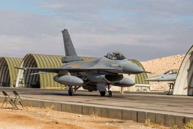 Belgian F-16 mission Syria Iraq ISIS