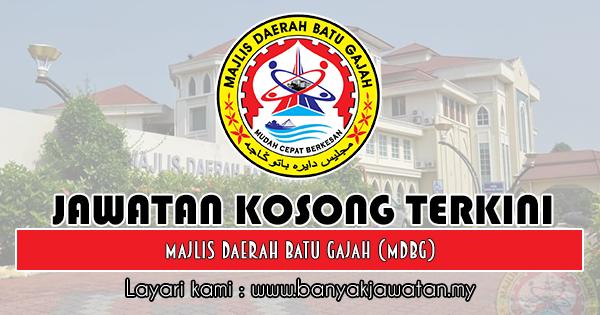 Jawatan Kosong 2018 di Majlis Daerah Batu Gajah (MDBG)