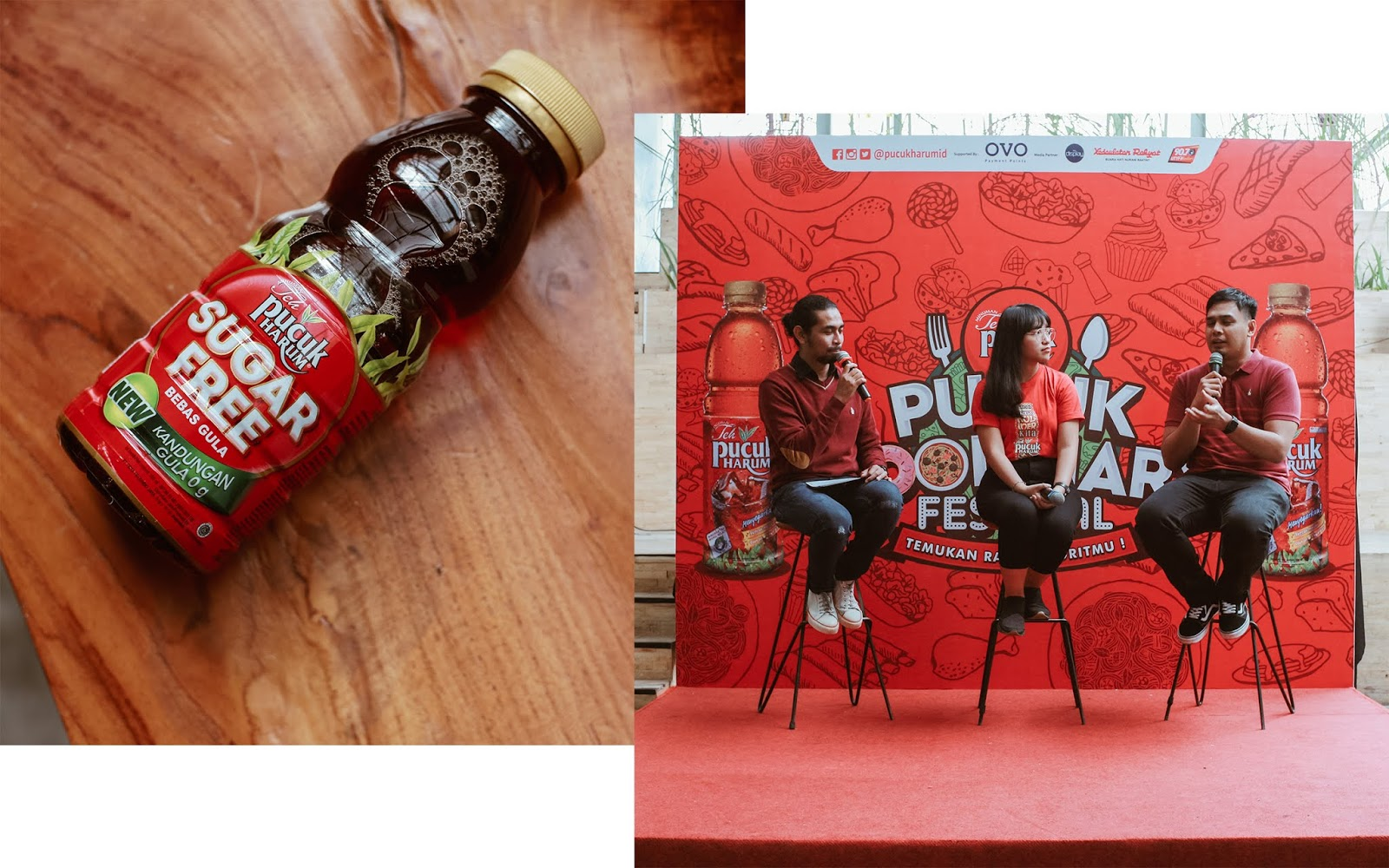 teh pucuk harum pucuk coolinary festival