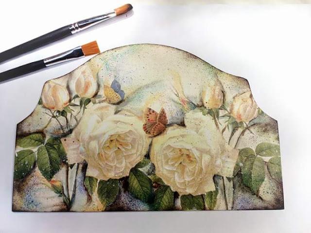 Róże – pittorico tutorial