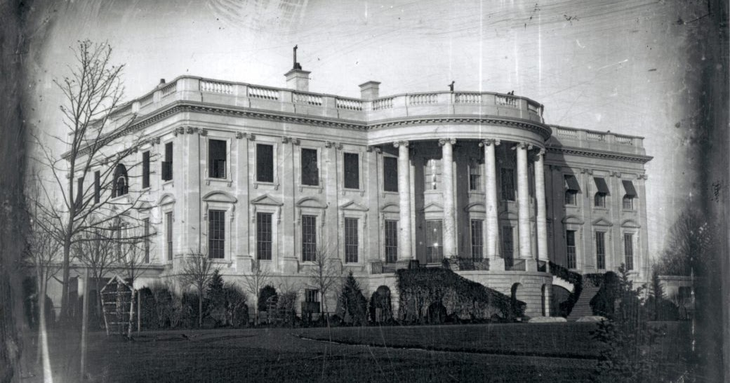The Earliest Known Photograph of White House Was Taken by an Immigrant in 1846