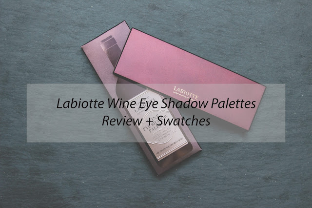 Review // Chateau Labiotte Wine Eye Shadow Palettes
