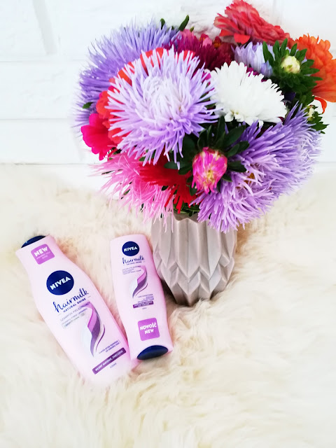 Mleczny szampon oraz mleczna odżywka wyzwalająca blask Hairmilk - Natural Shine Nivea