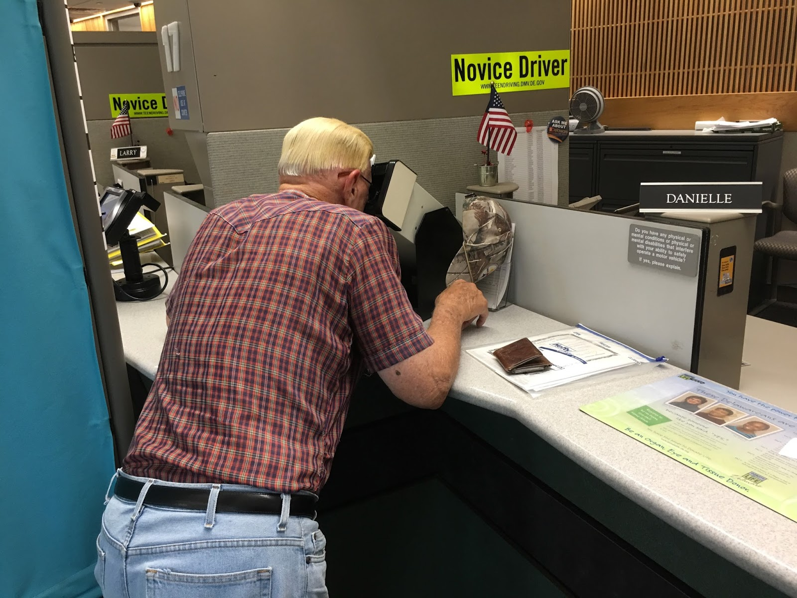 Retired In Delaware Bill Gets His Driver S License