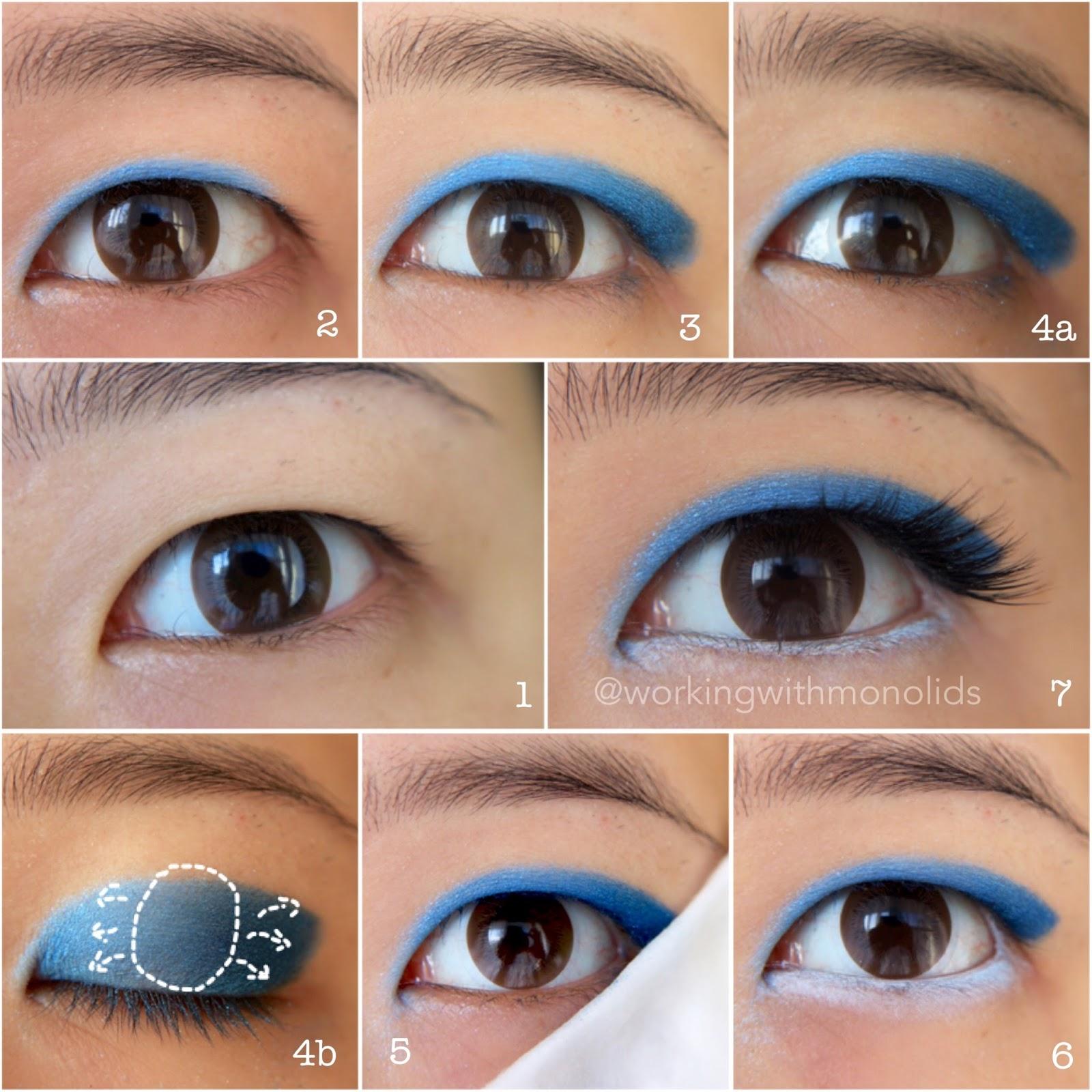 Workingwithmonolids september 2016 tutorial sailor mercury inspired wearable eye makeup baditri Gallery