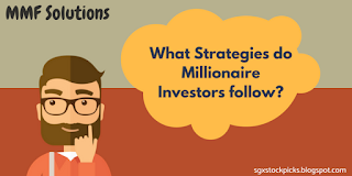 What Strategies do Millionaire Investors follow?