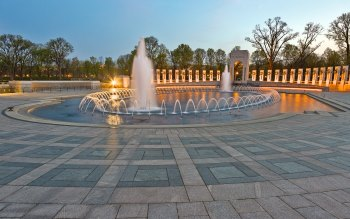 Wallpaper: World War 2 Memorial