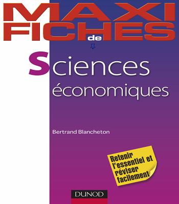 Maxi fiches de sciences économiques en PDF