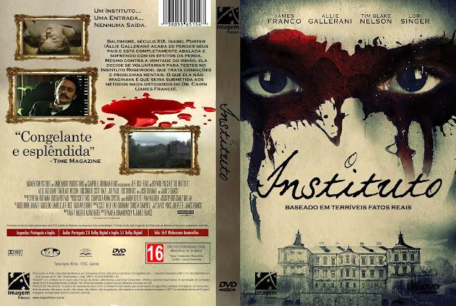 Capa DVD O Instituto [Custom]