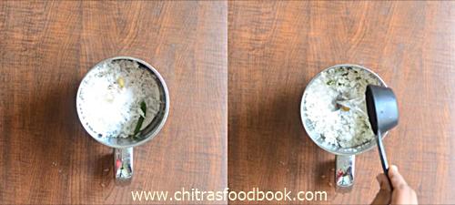 Hotel coconut chutney recipe