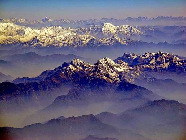 Nepal - Photo of Annapurna ranges