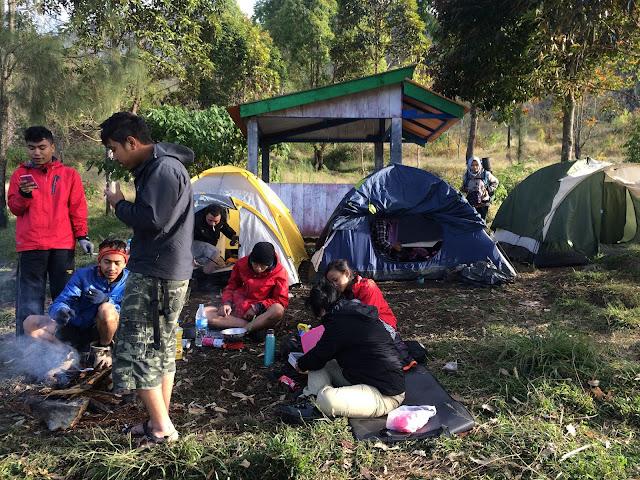 gunung lawu, camping,pendaki
