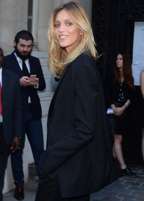 Anja Rubik Arrives at the Vogue Foundation Gala 2016